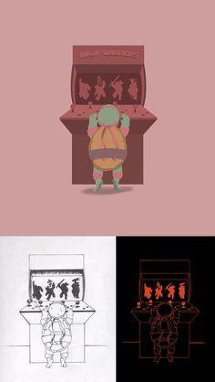 TMNT Tribute Illustration on Behance