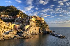 Manarola by Filippo Bianchi  Beautiful !!! :D