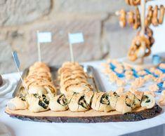 Partyähre Spinat und Pilze - vegetarisch