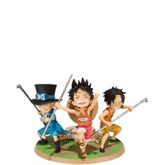 Luffy & Ace & Sabo (A Promise of Brothers) - One Piece - FiguartsZERO - Bandai