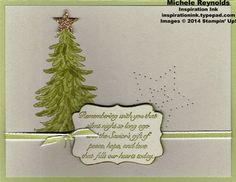 Evergreen olive tree and stars watermark/inspiration ink/7-27