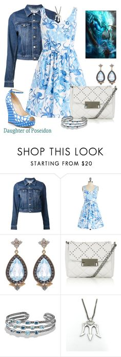 """""""Percy Jackson"""" by jawind ❤ liked on Polyvore featuring Acne Studios, Sara Weinstock, Topshop, David Yurman, Once Upon a Time and Oscar de la Renta"""