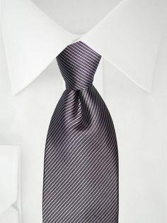 Graue Krawatte