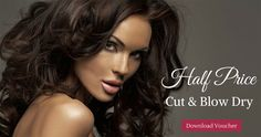 Half Price Cut & Blow Dry! Download this voucher to claim a HALF PRICE CUT AND BLOW DRY at GG's hair and beauty salon New clients only or not visited our salon in the last 12 months  Great offer only valid until the end of June! Claim now!!