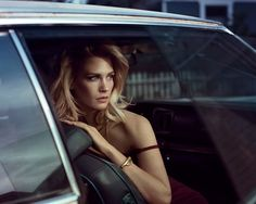 Timeless Beauty - January Jones #madmen #sex #cars