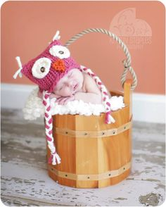Little Knit Owl Hat for Baby Many Color Choices by LittleKnitLovey, $25.00