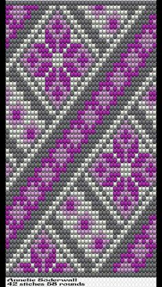Basket weaving patterns and designs Tapestry Crochet Patterns, Crochet Stitches Patterns, Crochet Chart, Bead Crochet, Beaded Jewelry Patterns, Beading Patterns, Basket Weaving Patterns, Mochila Crochet, Cross Stitch Cushion