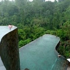 Swim in this pool in Bali