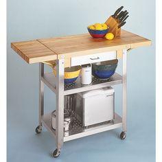 John Boos Cucina Elegante Drop-Leaf Cart $941.00