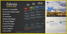Asteria - Corporate Wordpress Theme | DOWNLOAD & REVIEW