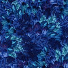 Belize-C3077-Blue #blue #feather #pattern