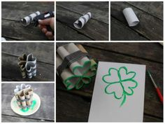 12 painting techniques to discover for everyone - Crafts - Tips and Crafts The Joy Of Painting, Petite Section, Ideas Geniales, Painting Techniques, Place Card Holders, Deco, Creative, Crafts, Saint Patrick