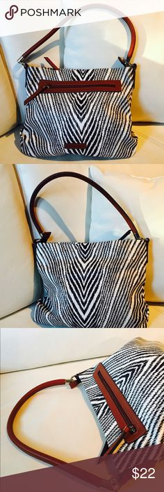 NWOT Liz Claiborne zebra nylon bag new Liz Claiborne beautiful bag in perfect condition Liz Claiborne Bags Hobos