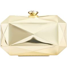 Inc International Concepts Milie Mirrored Clutch, (3.555 RUB) ❤ liked on Polyvore featuring bags, handbags, clutches, gold, inc international concepts, beige handbags, mirror purse, gold purse and beige clutches