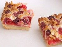 To Die For Cranberry- Coconut Bars