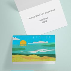 Freelance Projects Design beautiful, empowering minimalist holiday card by Ross Studio