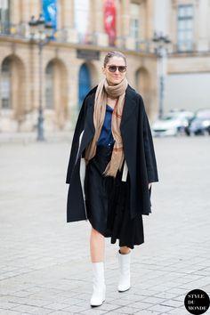 Sofia Sanchez de Betak Street Style Street Fashion Streetsnaps by STYLEDUMONDE Street Style Fashion Blog