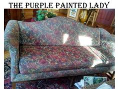 Using Chalk Paint for your Furniture.  Works on Leather, Velvet, Vinyl, Brocade, and any Fabric!!!!  Amazing!