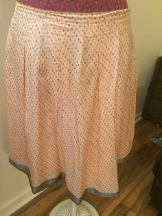 Talbots Skirt 94 Silk Size 12 | eBay