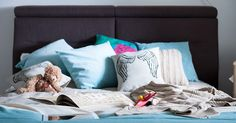 Łóżko tapicerowane Crocus