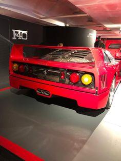 Ferrari in Maranello Ferrari F40, Cars, Vehicles, Sports, Hs Sports, Autos, Car, Car, Automobile