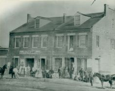 Corde's Feed Store. Northeast corner of Twelfth Street and Allen Avenue. (1868)