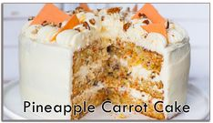 Easy Moist Carrot Cake Recipe With Pineapple.Pineapple Carrot Cake With Cream Cheese Frosting Sallys . The BEST Carrot Cake Recipe. Pineapple Carrot Cake With Cream Cheese Frosting Sallys . Home and Family Moist Carrot Cake Recipe With Pineapple, Recipes With Crushed Pineapple, Easy Carrot Cake, Moist Carrot Cakes, Gluten Free Carrot Cake, Easy Banana Bread, Banana Bread Recipes, Recipe Box, Recipes