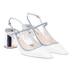 Miu Miu e-store · Shoes · Pumps · Pumps 5I9703_ZHV_F0NIL_F_Y065