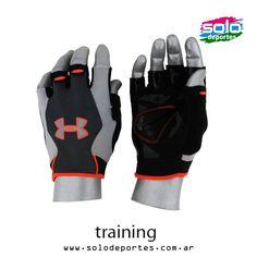 Guante CTR Trainer HF Negro/Gris/Naranja  Marca: Under Armour 700041229403035   $ 229,00 (U$S 39,62)