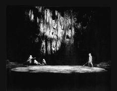 """"""" Götterdämmerung """" 3.Aufzug 1.Bild 1965 Wieland Wagner Bühnenphoto"""