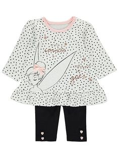 Disney Baby Tinkerbell Top and Leggings Outfit – Character-Outlet Disney Baby Clothes, Cute Baby Clothes, Disney Outfits, Baby Disney, Baby Girl Leggings, Toddler Leggings, Cute Princess, Princess Outfits, Toddler Outfits