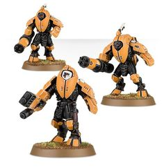 XV25 Stealth Battlesuits Tau Army, Tau Warhammer, Stealth Suit, Tau Empire, Lone Wolf, Bowser, Miniatures, Model, Wolves