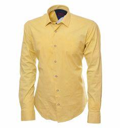 798e2daf54f1e29 Жёлтая рубашка с принтом по супер выгодной цене 3290 руб, с бесплатной  доставкой по Москве