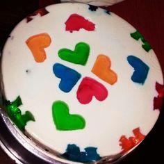 "Gelatina mosaico yogurth natural ""Clauzzen Cookies"""