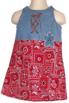 Little Lindsey Dress Toddler Girls Size 2T Multi Color Sleeveless Bandanna Print #LittleLindsey #Everyday
