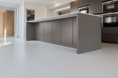 Designer Home Contempory Poured Resin Floor - Poured resin and concrete flooring