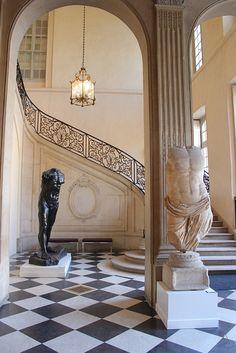 Musée Rodin, Paris Superb staircase in a fine 18th century Parisian hôtel particulier.