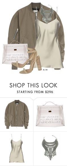 """""""✨"""" by kimberlythestylist ❤ liked on Polyvore featuring Fear of God, Hermès, Alberta Ferretti and YEEZY Season 2"""