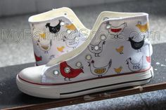 9f8970887fd Custom Chicks Painted Shoes Hand Painted Shoes