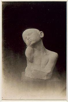 Constantin Brancusi Le Supplice, plâtre (1906)