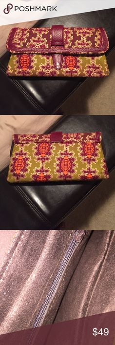African Print Clutch New but no tags, never used Bags Clutches & Wristlets