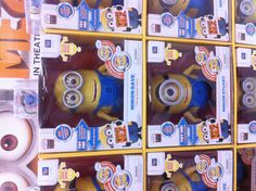 Large talking/giggling Minions at Wal-Mart ;-)