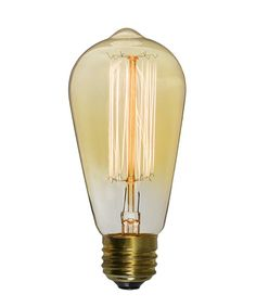 Ampoule Décorative Led Ambré Globe 95mm E27 470lm 35w