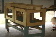 Shop cutting table