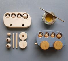 Handmade wooden toys, wooden toy, wooden bus from Friendly toys