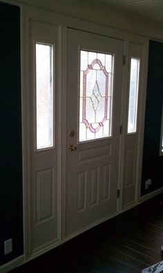 Would really LOVE to have a Craftsman style door here.....Someday!!