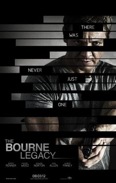 Poster of 'The Bourne Legacy' starring Jeremy Renner and Edward Norton