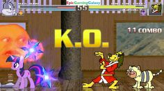 Annoying Orange & Bugs Bunny VS Hong Kong Phooey & Twilight Sparkle In A MUGEN Match / Battle This video showcases Gameplay of Twilight Sparkle From The My Little Pony Friendship Is Magic Series And Hong Kong Phooey The Superhero VS Bugs Bunny From The Looney Tunes Series And The Annoying Orange In A MUGEN Match / Battle / Fight