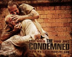 Watch Streaming HD The Condemned, starring Steve Austin, Vinnie Jones, Nathan Jones, Robert Mammone. Jack Conrad is awaiting the death penalty in a corrupt Central American prison. He is 'purchased' by a wealthy television producer and taken to a desolate island where he must fight to the death against nine other condemned killers from all corners of the world, with freedom going to the sole survivor. #Action #Thriller http://play.theatrr.com/play.php?movie=0443473