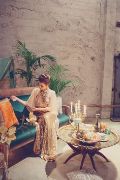 Art Nouveau Engagement Shoot from Pow Wow Vintage